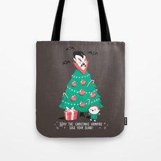 Return of the Christmas Vampire Tote Bag