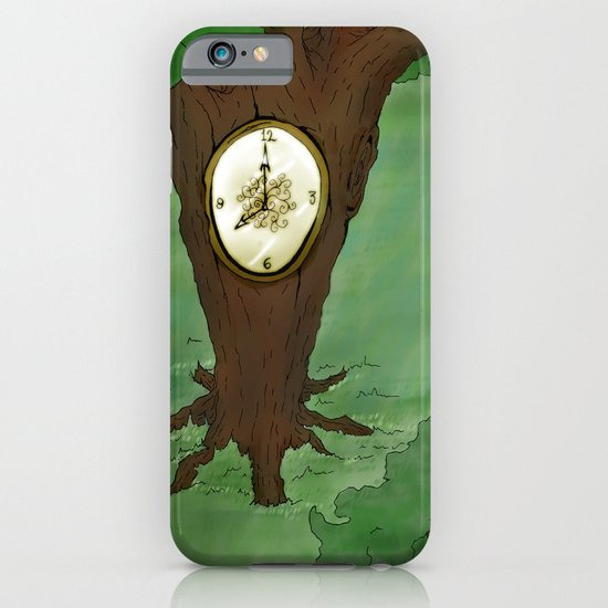 Tick Tock goes the tree iPhone & iPod Case