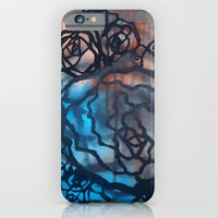 iPhone & iPod Case featuring Brick and marine roses by Astrid Fox