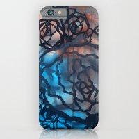 Brick And Marine Roses iPhone 6 Slim Case
