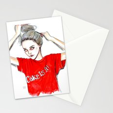 coke is it / sky  f Stationery Cards