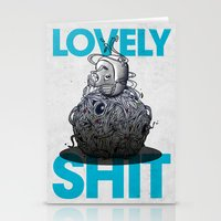 Lovely Shit Stationery Cards