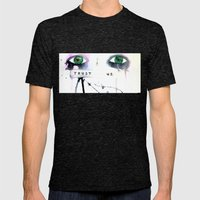 Trust Us Mens Fitted Tee Tri-Black SMALL