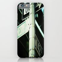 iPhone & iPod Case featuring 42nd by Joëlle Tahindro