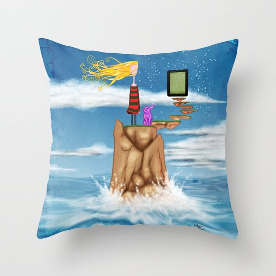 ...Unadjusted... Throw Pillow