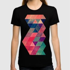 Hyt Cyryl Womens Fitted Tee Black SMALL