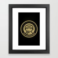 Chibi Kimi Raikkonen - Lotus F1 Team Framed Art Print