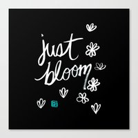 Just Bloom Canvas Print
