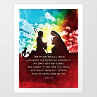 We Have Seen His Glory! Art Print