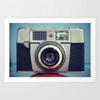 Old Agfa Camera Art Print