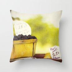 Roadside Throw Pillow