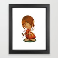 Heartache Framed Art Print