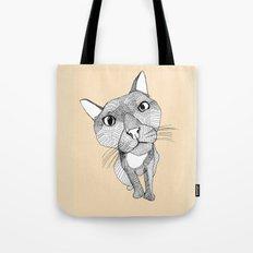 BigHead Cat Tote Bag