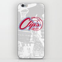 Clips Lob City iPhone & iPod Skin