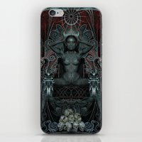 Triptych: Shakti - Black… iPhone & iPod Skin