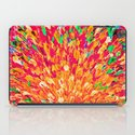 NEON SPLASH - WOW Intense Dash of Cheerful Color, Bold Water Waves Nature Lovers Modern Abstract  iPad Case