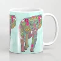 Painted Elephant Aqua Sp… Mug