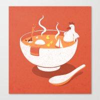 La Chicken Soup Canvas Print