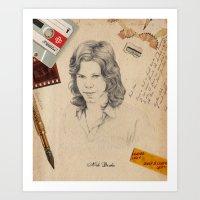 Nick Drake 2015 Art Print