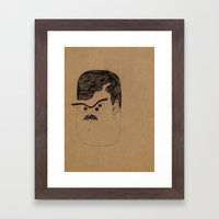 Sci-Fi David. Framed Art Print