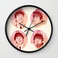 The Fab Four II Wall Clock