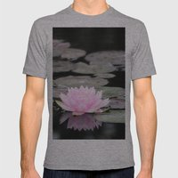 The Lily Pad Mens Fitted Tee Athletic Grey SMALL