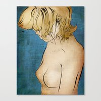 The Weight of Words Canvas Print