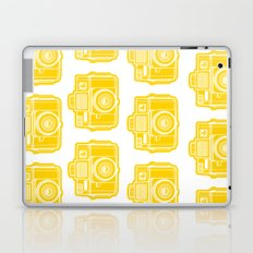 I Still Shoot Film Holga Logo - Sunshine Yellow Laptop & iPad Skin