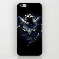 Meowl (Blue) iPhone & iPod Skin