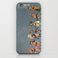 iPhone Cases featuring Sailors Assemble! by Ann Marcellino