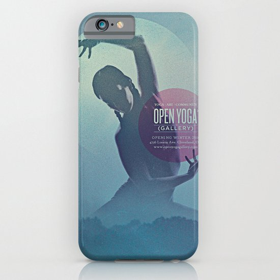 Open Yoga Gallery iPhone & iPod Case