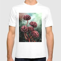 Perceiving Reality  Mens Fitted Tee White SMALL