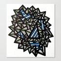 Sharp Tooth Canvas Print