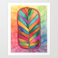 Just Leafy Art Print