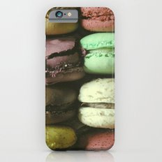 Macarons - Food Kitchen Photography iPhone 6 Slim Case