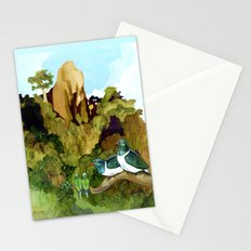 Love Under The Mountain Stationery Cards