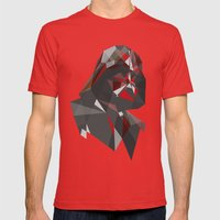 Dark Lord (variant) Mens Fitted Tee Red SMALL