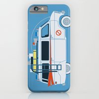 iPhone & iPod Case featuring Ecto Van-1 by Brandon Ortwein