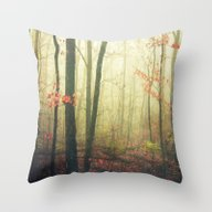 The Woods Are Lovely Dar… Throw Pillow