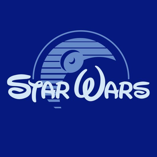 Disney Wars Art Print