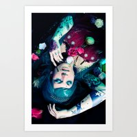 Bloom To Fall Apart Nr.1 Art Print