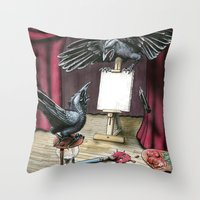 The Stalemate  Throw Pillow