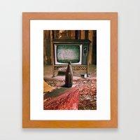 Lack of Entertainment Framed Art Print