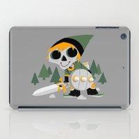 Skull Sword Guy iPad Case