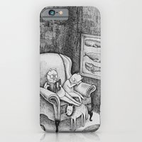 iPhone & iPod Case featuring Whale Reader by Ulrika Kestere