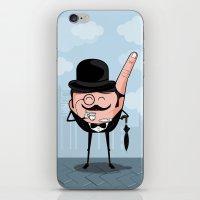 Sir Pinky iPhone & iPod Skin