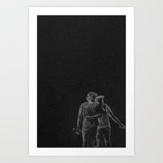 Harry Styles And Louis T… Art Print