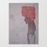 OUTLYING Canvas Print