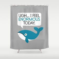 Water Weight Shower Curtain