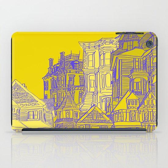 Victorians houses iPad Case